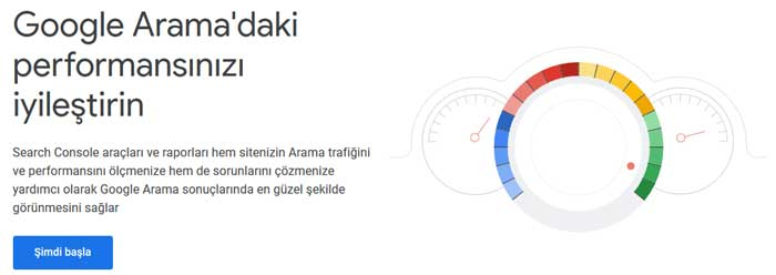search console kayıt