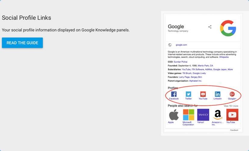 Google Zengin Kartlar