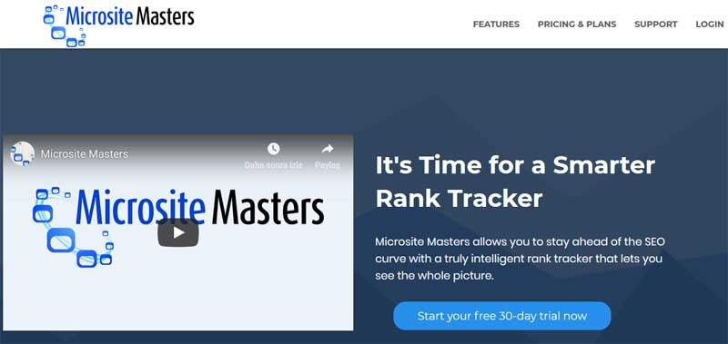 Microsite Master